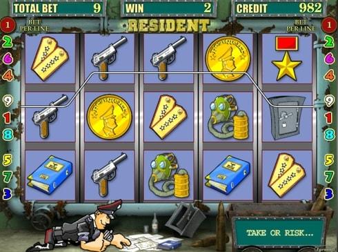 Казино на реальные деньги с выводом - Resident