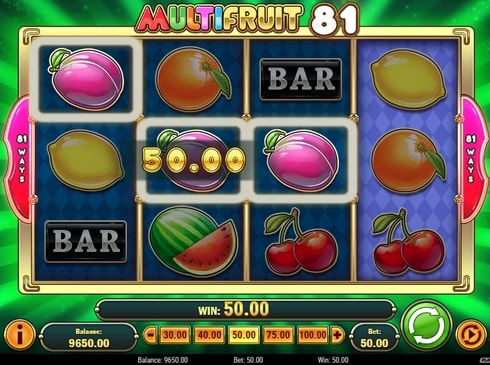Комбинация из слив в Multifruit 81